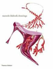 Manolo Blahnik Drawings of Designer Shoes  Thames & Hudson  NEW   Beautiful!