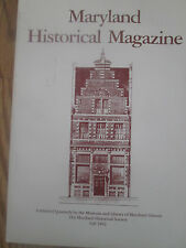 1992 Maryland Historical Magazine - Early Textile Industry in Maryland