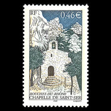 France 2002 - Chapelle de Saint-Ser Architecture - Sc 2903 MNH