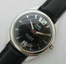 HMT PILOT HAND WINDING VINTAGE WATCH~ BLACK DIAL
