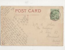 Miss A John St Peters Road Bournemouth 1907 485a