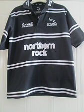 2006-2007 Newcastle Falcons Home Rugby Union Shirt adult youths (40012)
