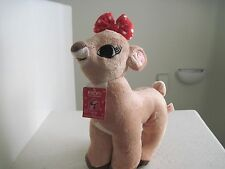"Dan Dee Collector's Choice Rudolph Red Nosed Reindeer CLARICE 14"" Plush Stuffed"