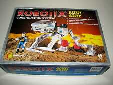 Robotix Construction System Desert Rover Learning Curve Toys Robot 1997 Complete