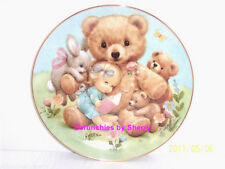 Storybook Pals Teddy Baby Rabbit Blessed Are Ye Coll 00004000 ector Plate Danbury Mint