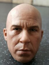 VIN DIESEL ELEVEN HEAD SCULPT NOT HOT TOYS