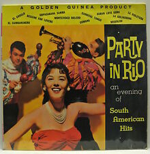 """12"""" Vinyl LP Record. Party in Rio. An evening of South American Hits. GGL.0087."""