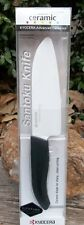 "Kyocera Ceramic 5.5""   Santoku Chef Knife  {14cm}  /  NEW  /  Sealed"