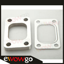T3 T3/T4 T04E T304 SS Turbo Manifold Turbo Charger Flange + T304 SS T3 Gasket