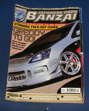 JAPANESE CARS BANZAI DECEMBER 2005 ISSUE 50 - GREEDY TO GO!