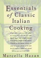 The Essentials of Classic Italian Cooking by Marcella Hazan (1992, Hardcover)
