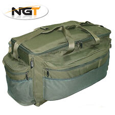 NGT Large 80 Litre Green Tackle Holdall Barrow Bag Carp Specimen Fishing