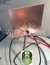 WiFi Antenna MACH 1 Single Biquad Booster Long Range RP-SMA GET FREE INTERNET
