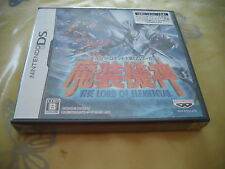 SUPER ROBOT TAISEN OG SAGA MASOU KISHIN DS JAPAN IMPORT NEW OLD STOCK!