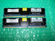 8GB HP Nanya PC2-5300F DDR2  667MHz Fully Buffered FBDIMM (2x 4GB) for Servers