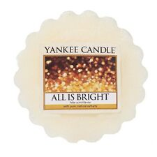 YANKEE CANDLE cialde profumate wax melt tart All is Bright durata 8 ore