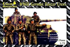 Caesar Miniatures 1/72 B03 WWII German Panzer Crews