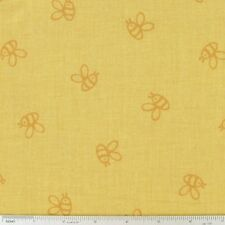 Winnie the Pooh Busy Bee Cotton Fabric ~ 44 x 11 remnant