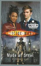 Doctor Who: Made of Steel Terrance Dicks BBC Paperback 2007 Quick Reads Novel G+