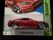 HW HOT WHEELS 2015 HW WORKSHOP #250/250 ASTON MARTIN DBS HOTWHEELS DARK RED VHTF