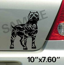 Pitbull Tribal Vinyl Decal Sticker Car Truck Window or Body Stickers, Decals