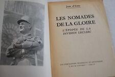 NOMADES DE LA GLOIRE-EPOPEE DIVISION LECLERC-JEAN D'ESME-ILLUSTRE CARTE