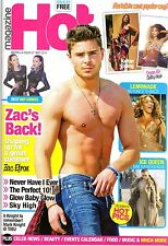 SPANISH MAGAZINE HOT : ZAC EFRON / PRINCE / MARK KNIGHT / BEYONCÉ / EMILIA CLARK