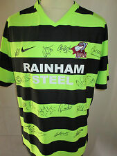 Scunthorpe United Away Football Shirt Signed by 2010-2011 Squad with COA /31962