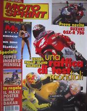 Motosprint 9 2000 Poster BMW Dakar. Inserto Il casco per tutti, comprare on line