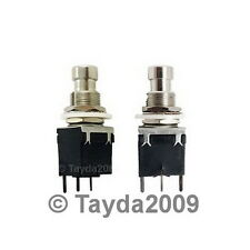 1P2T SPDT Momentary Stomp Foot / Pedal Push Button Switch PCB - Free Shipping
