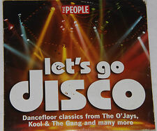 Let's Go Disco (The People Promo CD) The O' Jays, Kool & The Gang & Many More