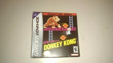 Donkey Kong Classic NES Series Nintendo Game Boy Advance DK IN BOX 100% COMPLETE