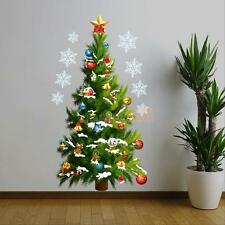 Large Christmas Tree Wall stickers Decal Removable Mural Home Window PVC Decor