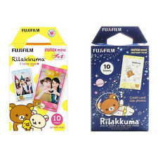 Rilakkuma FujiFilm Fuji Instax Mini Film Polaroid 20 Instant Photos Value Set