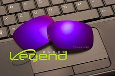 E45 Purple ETCHED POLARIZED Replacement Lenses For Oakley HOLBROOK