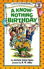A Know-Nothing Birthday (I Can Read Book 2)