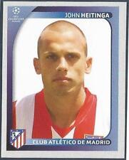 PANINI UEFA CHAMPIONS LEAGUE 2008-09- #083-ATLETICO MADRID-JOHN HEITINGA