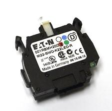 NEW EATON M22-SWD-K22LED-R SWITCH CONTACT BLOCK 2 POLE