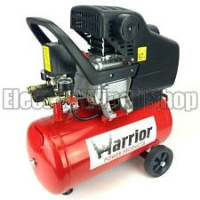 Warrior 24 Litre Air Compressor 7.3CFM 2HP 240v Electric 8Bar 116PSI 24L 24Ltr
