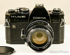 Cosina Co: Cosina Hi-Lite EC c1972. 35mm 24x36 + COSINON 1.4 55 mm M42 42 à vis