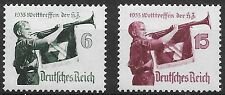 "Germany Third Reich Mi# 584-585 MH World Jamboree of ""Hitler Youth"" 1935*"