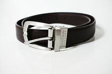 Savile Row Company Mens Leather Belt Brown
