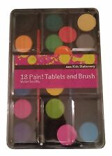 Kids Brush Tablet and Water Soluble Paint