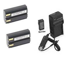 2 EN-EL1 Batteries + Charger for Nikon 775 880 885 995 4300 4500 4800 5000 5400