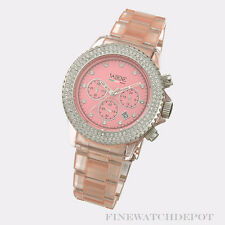 Authentic Vabene Pink Chronograph Superstar Watch CH914