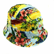 New Era Island Tropical Bucket Hat Cap Summer Beach