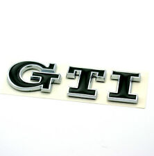 "1PC Black ""GTI"" Logo Badge fit VW Golf MK3 MK4 MK5 MK6 Polo Car Body Boot Emblem"