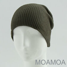 Moa0106 Khaki Hat Basic Men Cotton Cap Beanie Unisex Women Summer Free Shipping
