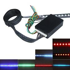 Waterproof 7Color 55cm 48 LED 5050 Flash Car Strobe Knight Rider Light Strip Kit