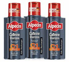 Alpecin C1 Caffeine Shampoo 250ml Pack of 3